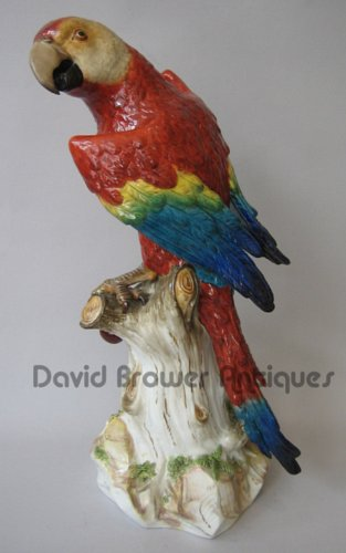 Magnificent Meissen Macaw
