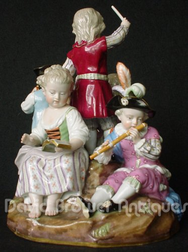 Meissen musical group of children