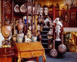 David Brower Antiques - London based dealer in 19th century European and Oriental antiques and decorative works of art, including antique Meissen and KPM porcelain, sculpture and bronzes, and Japanese and Chinese porcelain, ceramics and works of art