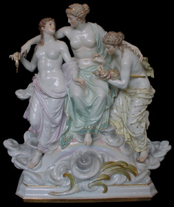 "Meissen group of the ""fates"""